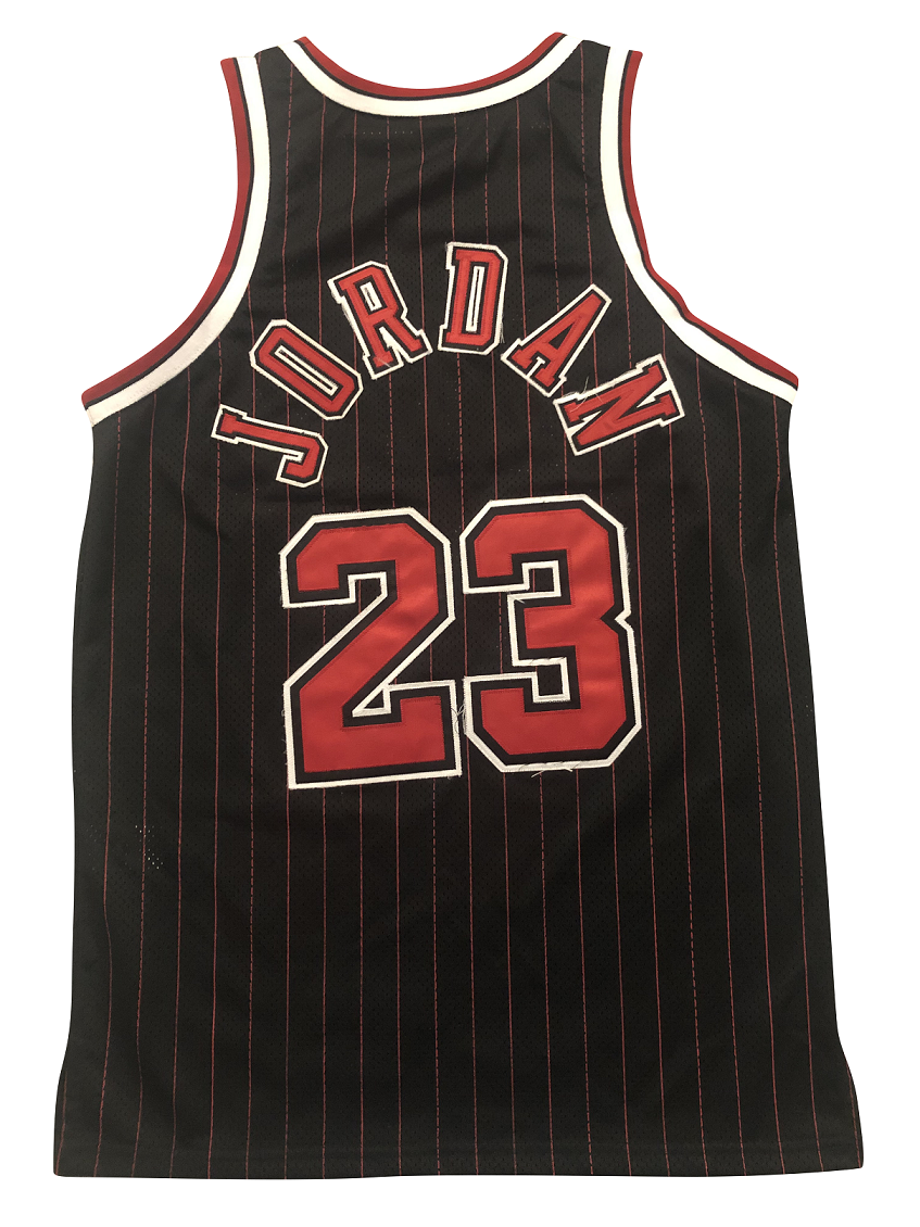 official photos a40d8 5edf4 Michael JORDAN #23 Chicago Bulls LIMITED EDITION BLACK FLIGHT 8403 Jersey  1996
